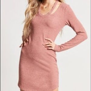 NWOT Rose Strappy Cutout Mini Dress